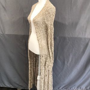 Mossimo Floor Length Cardigan
